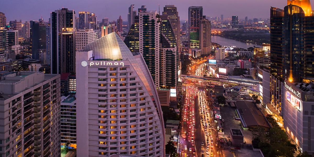 曼谷酒店的外观