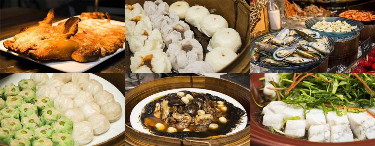 Chinese new year buffet promotion