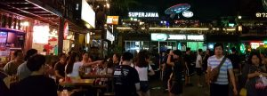 hotel near bangkok nightmarket