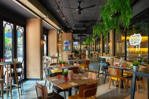 Streats Outdoor Seating Area
