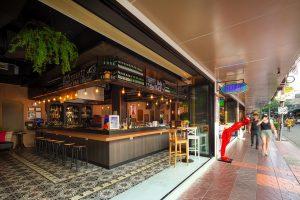 Streats Bar & Bistro Entrance