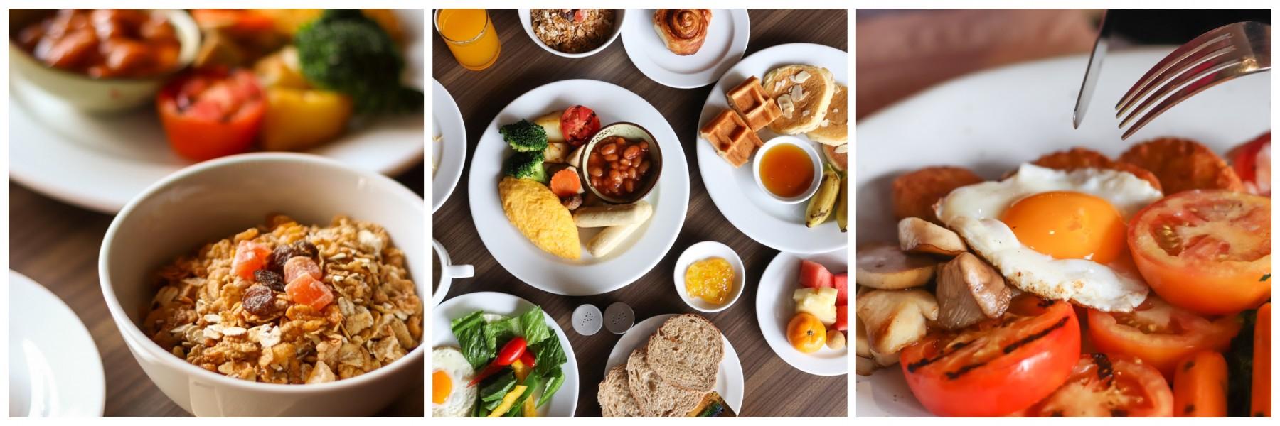buffet breakfast in Khaosan road