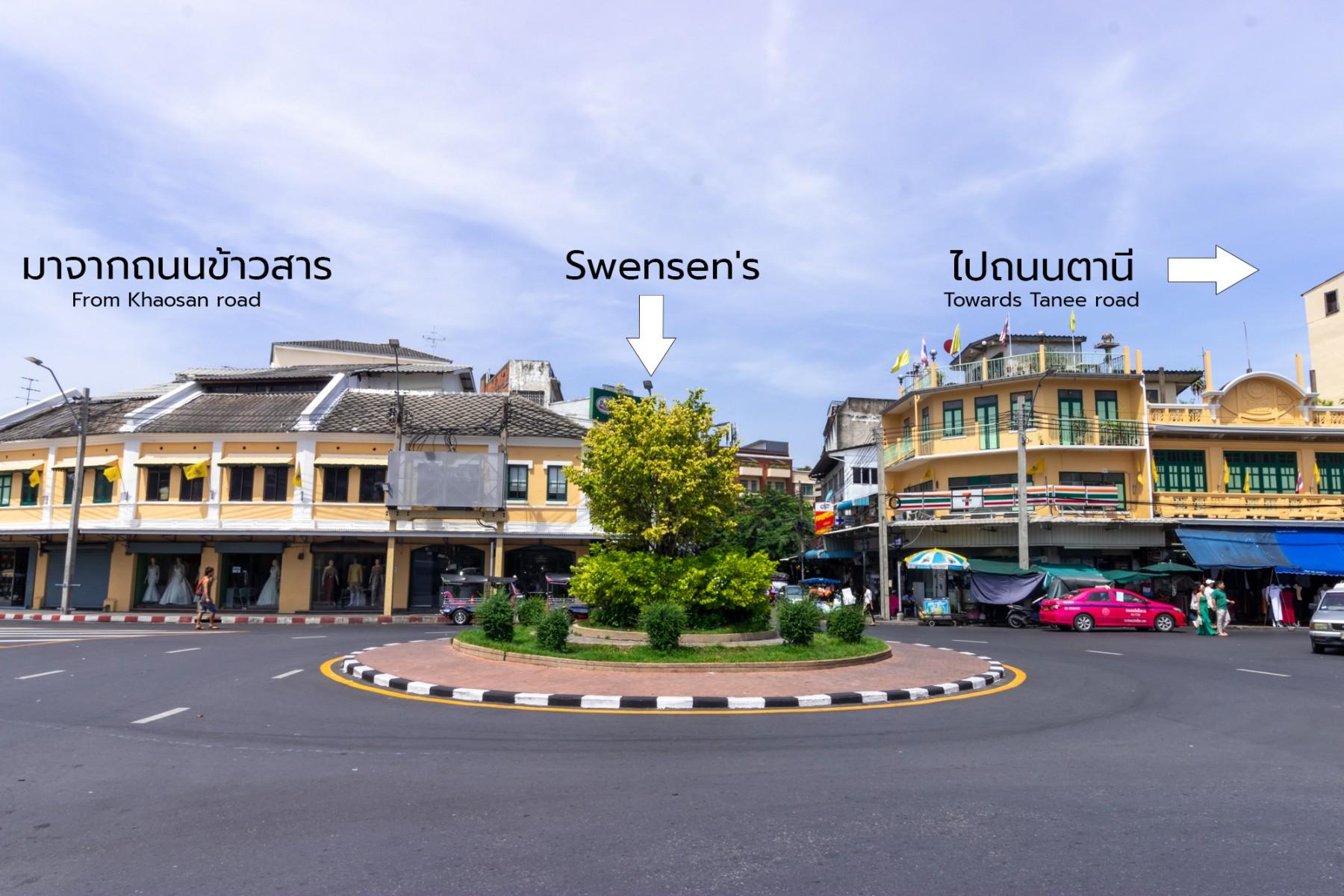 Car park in Khaosan road