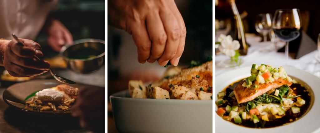 Degustation menu Chefs table siem reap