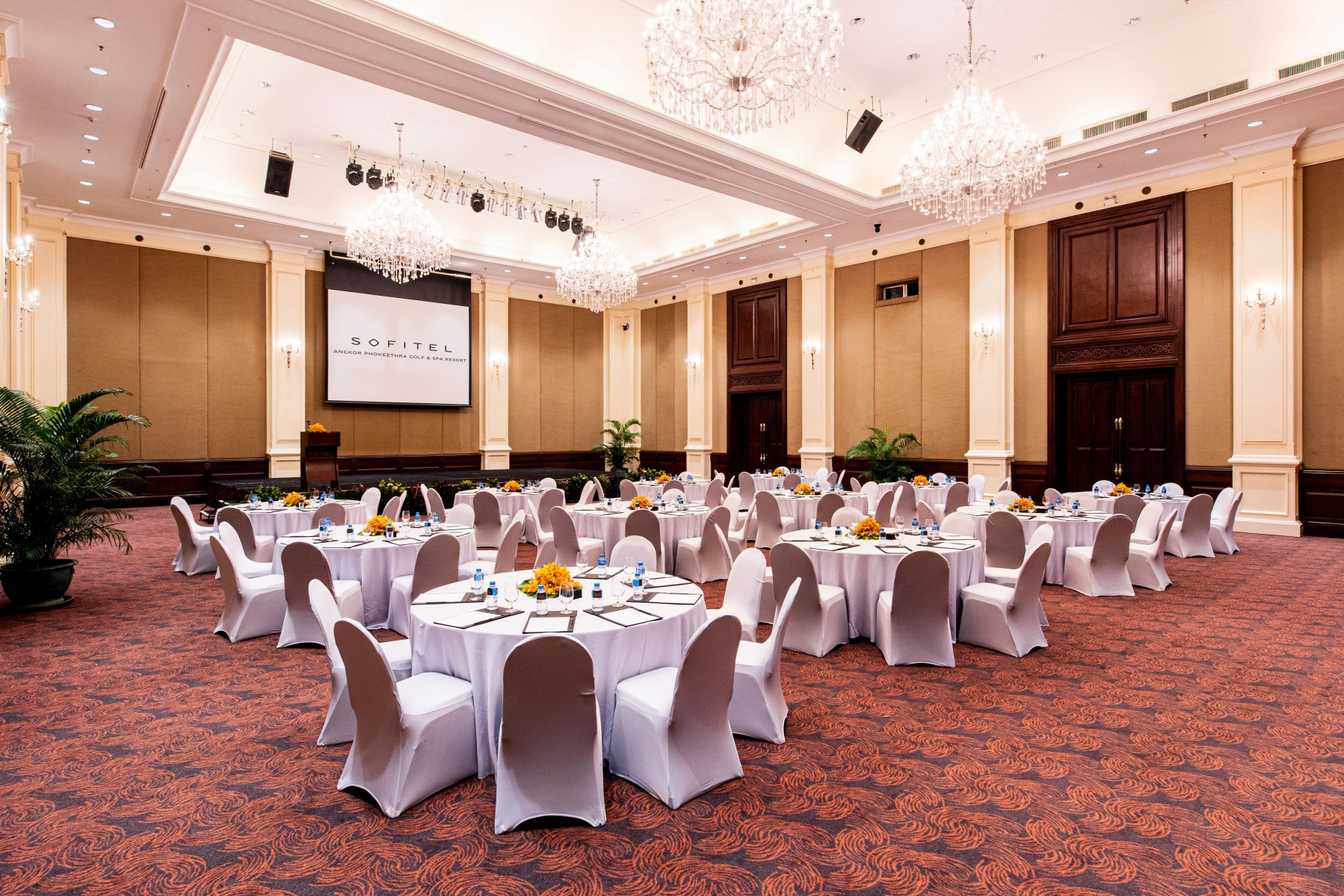 modern meeting rooms siem reap