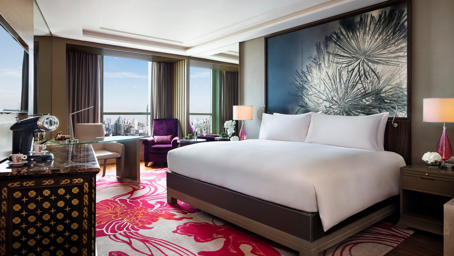 Rooms: Luxury 5 Star Hotel Bangkok