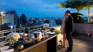 Private Terrace at Sofitel Bangkok Sukhumvit