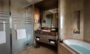 Bathroom in the Luxury Room at Sofitel Bangkok Sukhumvit