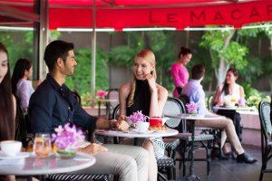 Le Macaron Terrace at Sofitel Bangkok