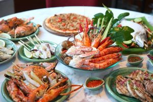 Thai Seafood Dinner Buffet