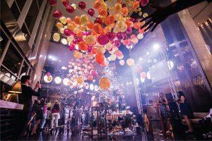 New Year Bangkok 2016 in hotel Lobby