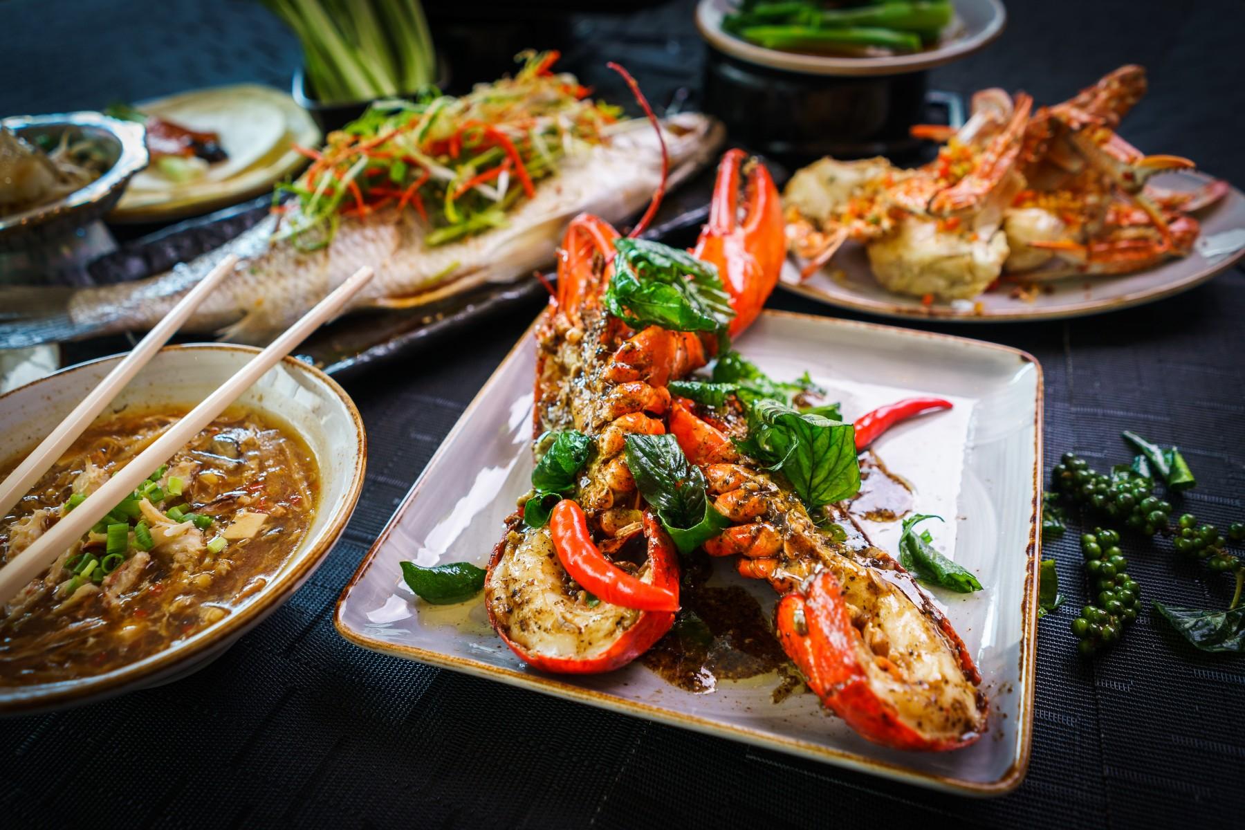 Seafood Buffet Dinner in Bangkok