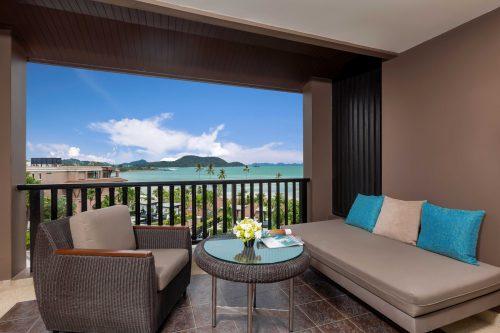 balcony of junior suite