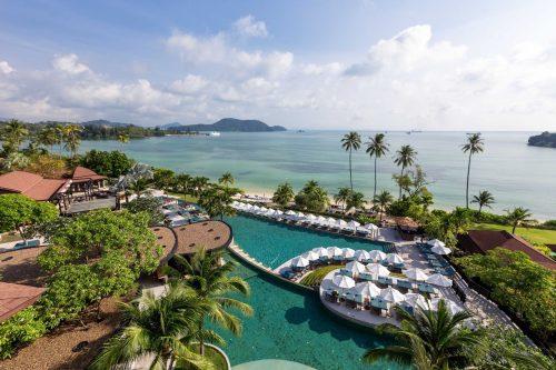 swimming pool at pullman phuket panwa beach resort