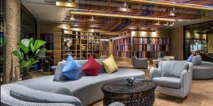 Mercure Bangkok 11 - Lobby sofas