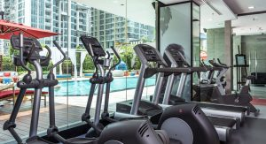 Mercure11 - Gym equipment