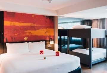 Quarantine hotel in Bangkok