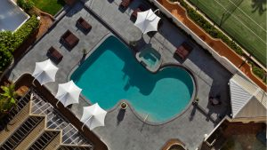 Swimming, Pool, View, Roof, Novotel