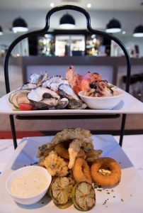 Seafood Tower for two people
