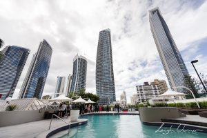 Poolside Ceremony Surfers Paradise