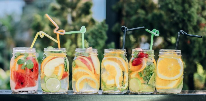fruit-water-mason-glasses