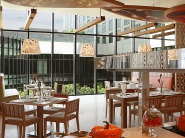 Cool Restaurants Bars Pullman New Delhi Aerocity 5 Star Hotel Interior Design Ideas Pimpapslepicentreinfo