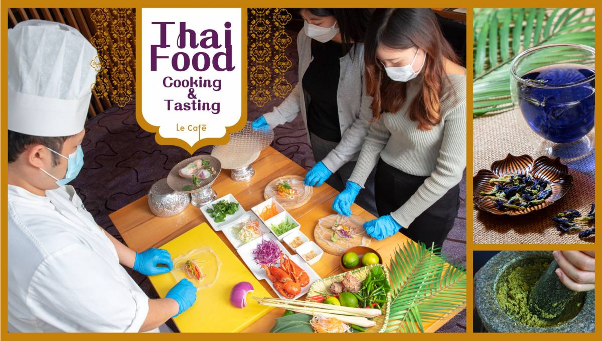 Novotel Staycation Thai Cooking Class