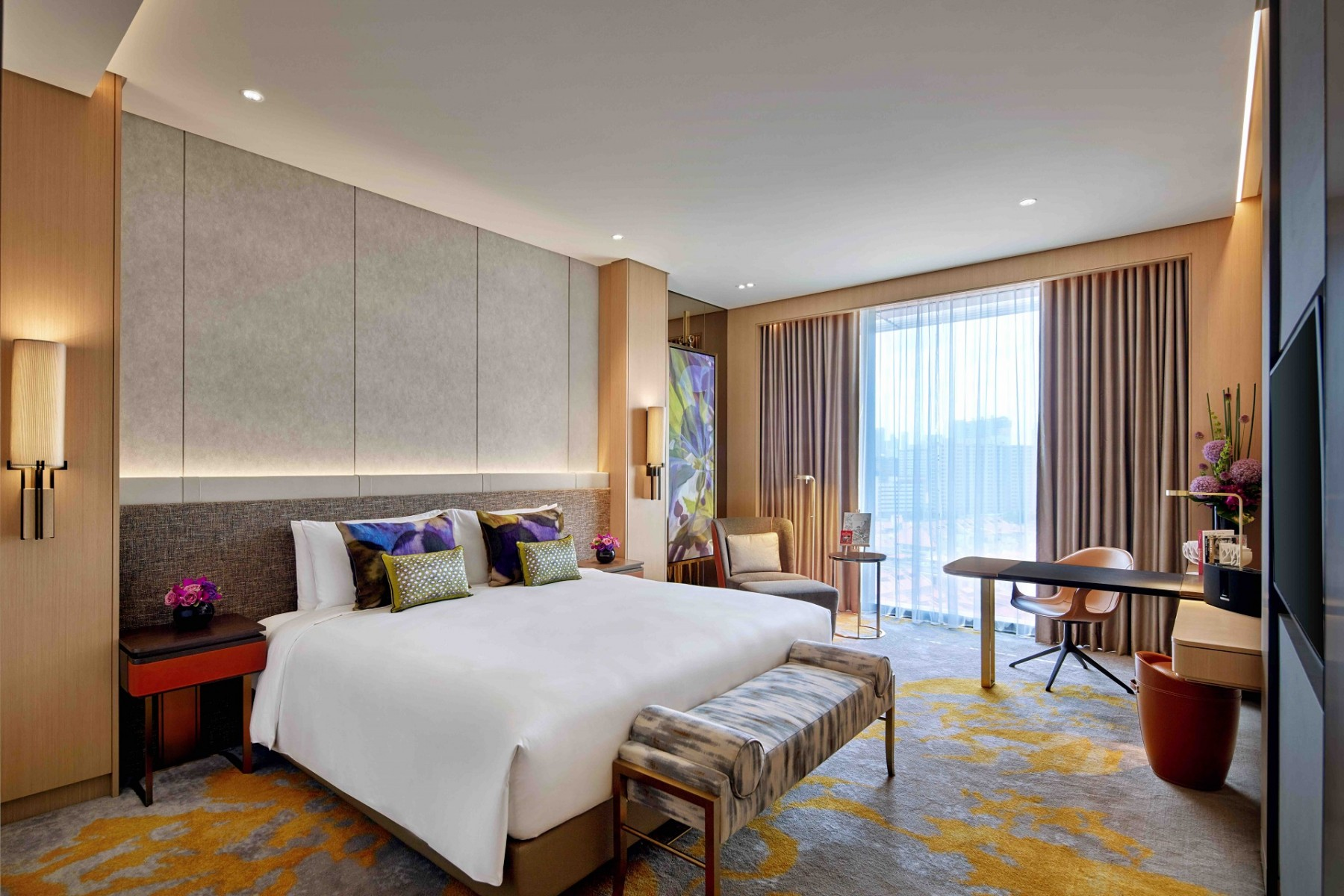 Luxury Hotel in Singapore | Sofitel Singapore City Centre staycation hotel