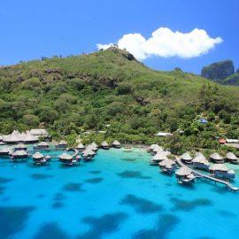 Sofitel Bora Bora Marara Beach Resort aerial view