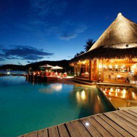 Sofitel Bora Bora Marara Beach Resort Restaurant Barresized