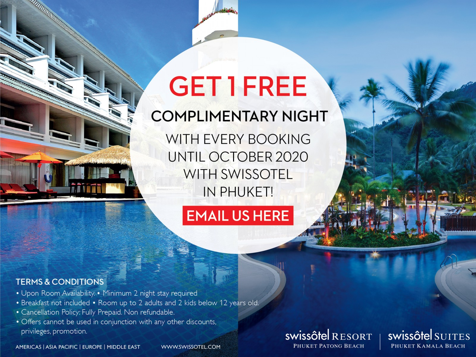 Swissotel Complimentary Night
