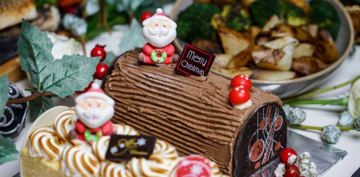 novotel-stevens-christmas-logcake-and-dinner