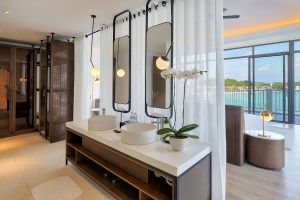 Master bathroom in villa at Premier Village Phu Quoc
