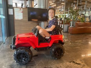 Kids Electric Cars at Novotel Brisbane South Bank
