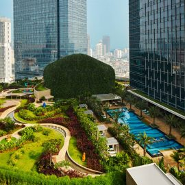 Leisure facilities that is located in Level of Raffles Jakarta