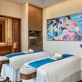Raffles Spa Couple treatment room hires