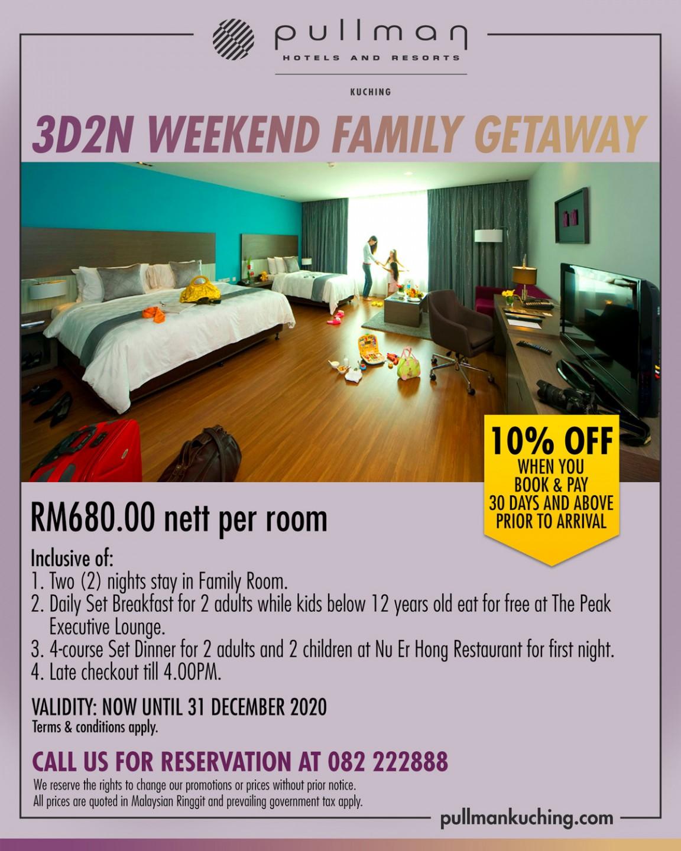 3D2N Weekend Family Getaway