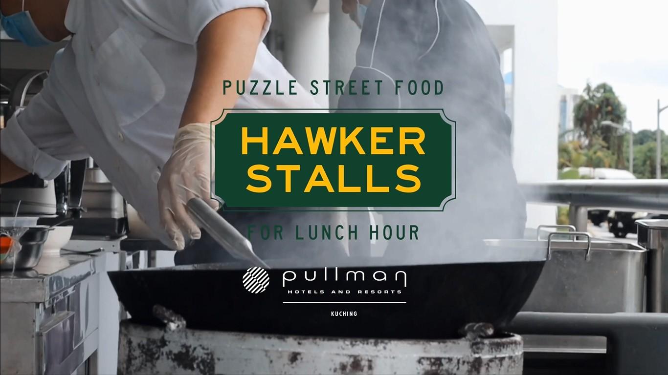 Puzzle Street Food Hawker Stalls