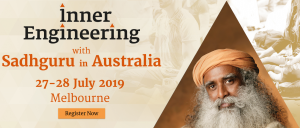 Stay around MCEC for Sadhguru's Inner Engineering Convention