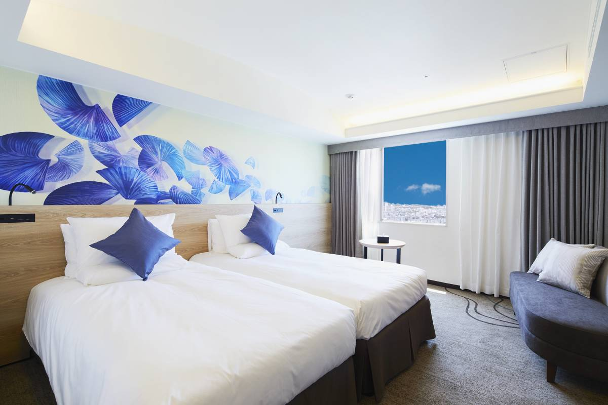 Standard Twin Room Novotel Okinawa Naha Naha City Hotel