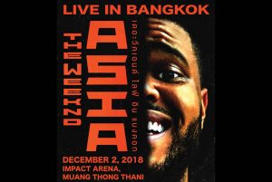 The Weeknd Asia Tour Live in Bangkok 2018