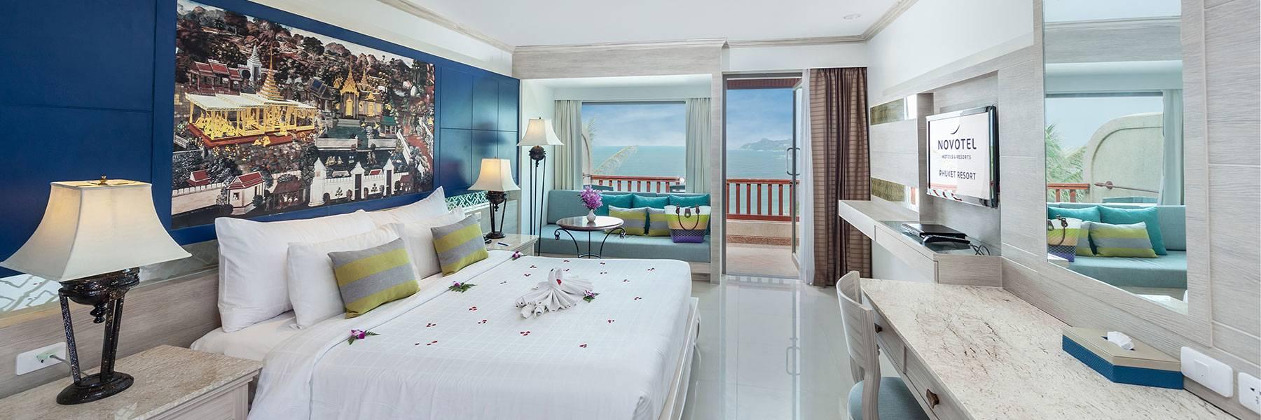 Novotel Phuket Resort Guest Rooms