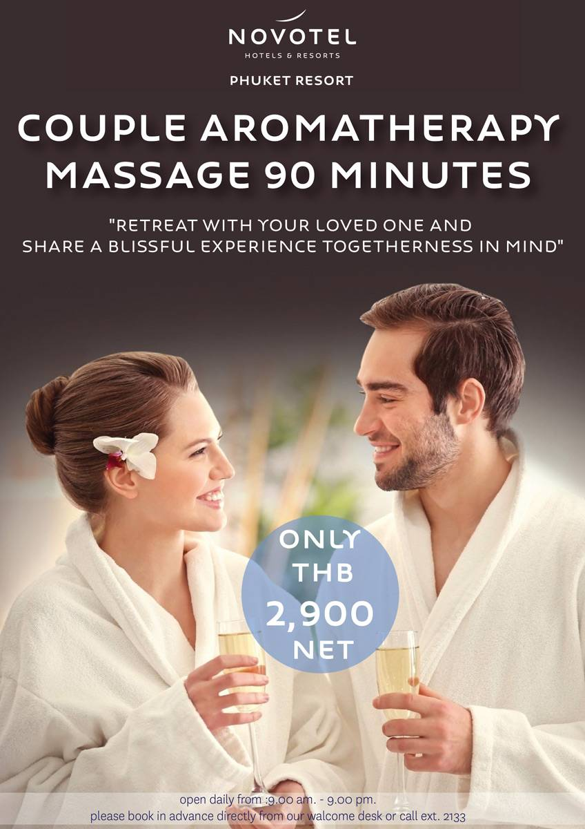 Couple Aroma Therapy Massage