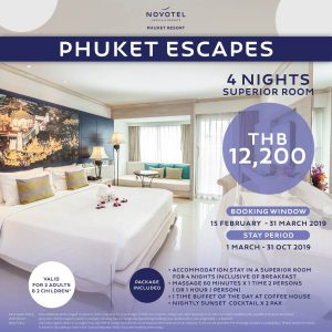 Novotel Phuket Escape Superior-4-night