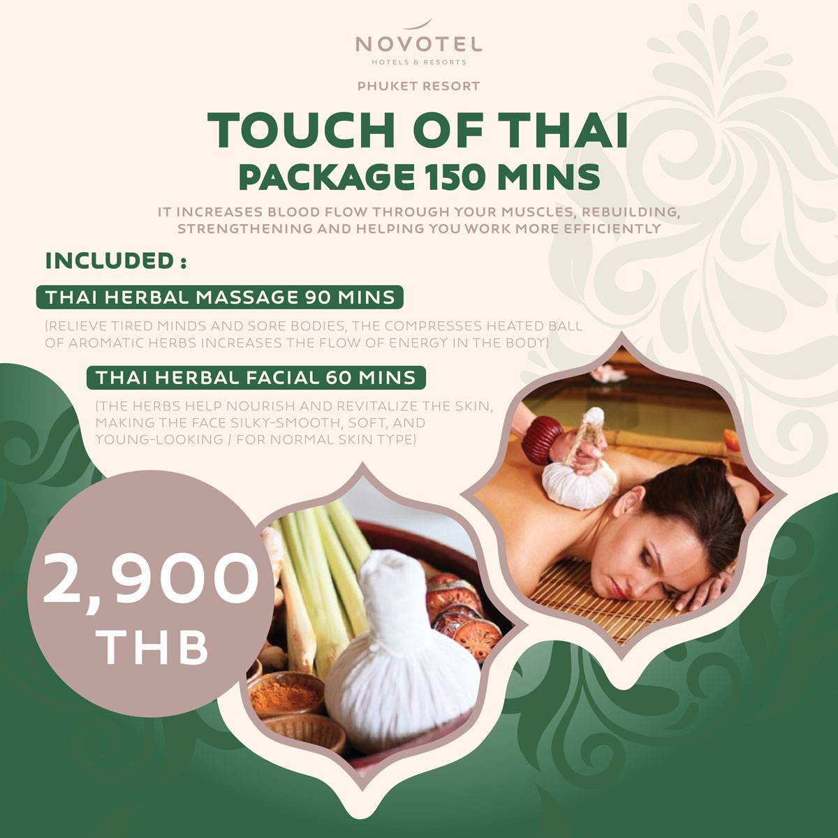 Touch of Thai Package