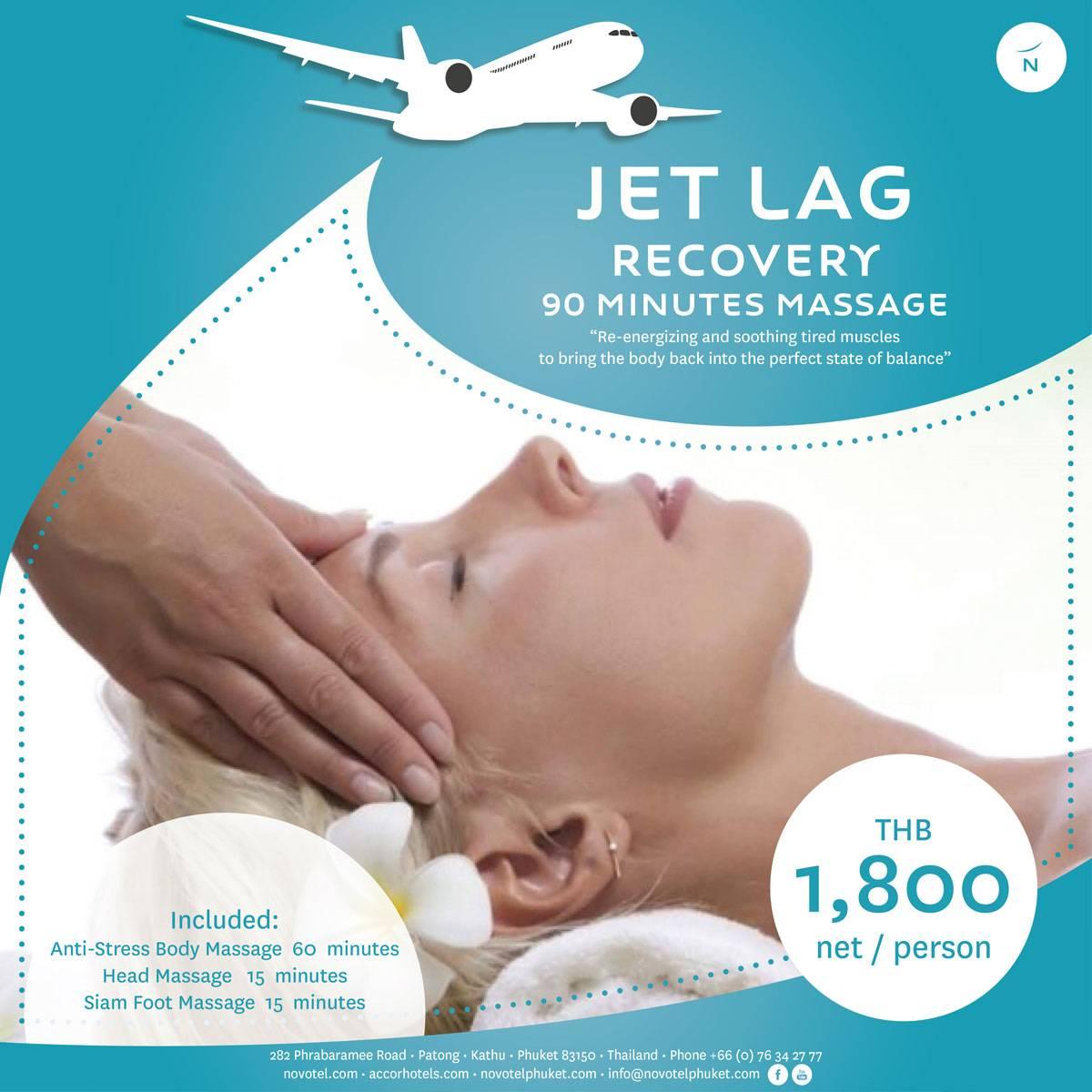 Jet Lag Recovery Massage