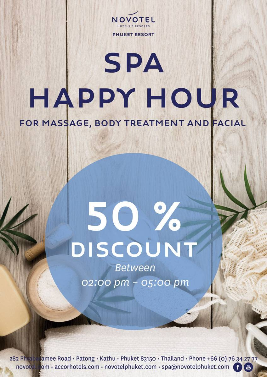 Spa Happy Hour