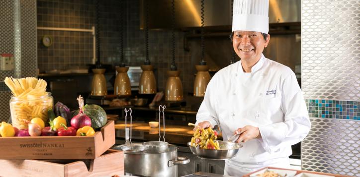 Tavola36 Chef Hiroto Yoshida