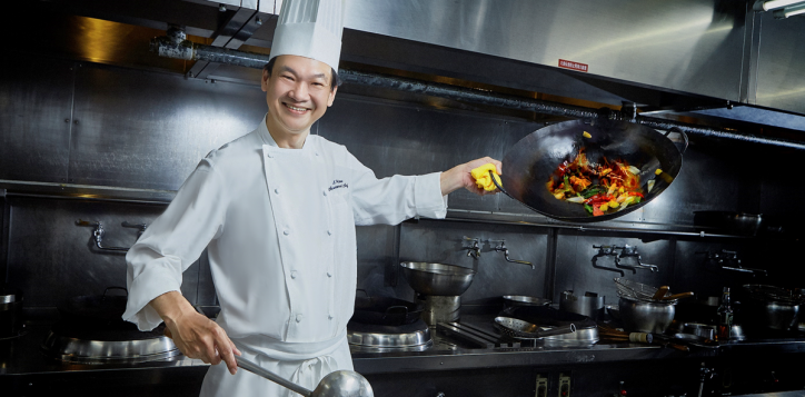 Empress Room Chef Leow Leong Hock