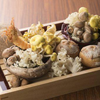 seasonal-mushroom-kushiage-course